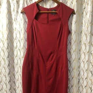 Vince Camuto Orange Dress Size 6